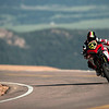 "7/9: 2012 -The Ducati Multistrada 1200 S Pikes Peak wins for the 3rd year in succession. Photos courtesy of <a target=""_blank"" href=""http://ducati-chile.cl/"">Ducati Chile</a> The winning riders was Greg Tracy. The track record for bikes of 10 minutes, standing for something like 90 years was broken by Carlin Dunne with a time of 9'52'829 while Tracy also broke the 10 min barrier with a best time of 9'58'262."