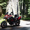 1/2 - Ducati.ms forum member GEE-BEE's 2011 Pikes Peak Multistrada 1200 - Oregon Gold Coast