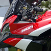 15May2011 - Ducati unveil the Pikes Peak Special Edition Multistrada 1200 at the Quail Motorcycle Gathering in the US