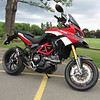 First Multistrada 1200 Pikes Peak Special Edition on the road in the UK? (anywhere??), today 09June2011.<br /> Lucky owner Ducatisti.co.uk member 'Wrecked' (aka Tony).....more photos to come I hope :-)