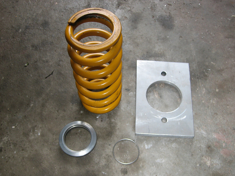 10/14 - Photo by AdrianM - Multistrada 1200 Ohlins rear shock absorber spring change spring /upgrade<br /> Article to come