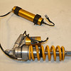 1/6 - OHLINS TTX rear shock assembly from a 2010 DUCATI MULTISTRADA 1200S TOURING:<br /> OHLINS TTX EC REAR SHOCK ABSORBER / OHLINS DU 8600, Ducati PART NUMBER: 36520952A - as fitted to: MULTISTRADA ABS TOURING 1200S, MULTISTRADA ABS SPORT 1200S & Multistrada 1200S Pikes Peak