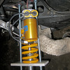 5/14 - Photo by AdrianM - Multistrada 1200 Ohlins rear shock absorber spring change spring /upgrade<br /> Article to come