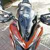 6/6: Multistrada 1200 PUIG Sport (short) Screen <i>No back to back testing with a stock screen as I used mine to make my own DIY sport/shorty....but I recall only too well how keen I was to ditch the standard screen because of buffeting and turbulence....my DIY shorty is a major improvement, windy obviously (good helmet [Shoei Qwest] and ear plugs a benefit;-) but good clean air flow. The PUIG short screen was better still, REALLY smooth air flow off it, NO turbulence or buffeting. I guess the 'double bubble' type shape of the screen helps. ('Buffeting - obviously you'll get some buffeting regardless of screen in certain conditions such as gusting cross winds or passing through a big truck 'wake')  A big thumbs up from me :D ...but I guess I'm a bit vain lol..........my DIY screen is going back on purely as I like the look :D</i>