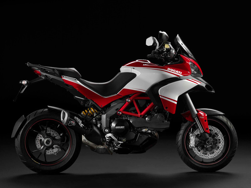 For comparisons sake.....the 2012 / 2013 Multistrada 1200 Pikes Peak edition