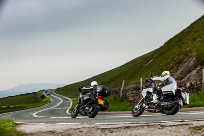 Multistrada 1200GT & Caponord 1200TP Shootout