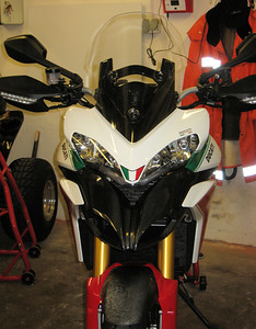 6/7: Multistrada 1200 Tricolore / Trikolore from www.italienische-motorraeder.de Photos by http://ducatimultistrada.eu member Gabi S aka 'Don' See:  Multistrada 1200 Info & Resources