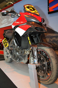 "Ducati Multistrada 1200 Pikes Peak winner 2010 See also: ""Multistrada 1200 MTS1200 Track & Race Circuit""  http://andyw-inuk.smugmug.com/Motorcycles/Ducati-Multistrada-1200/Multistrada-1200-MTS1200-Track"