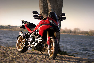 2/6: Photo by Portuguese Multistrada owner Joao F (aka JP)  See: Featured Bikes - Ducati Multistrada 1200 MTS1200 Motorcycles