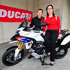 "First Look: Ducati Multistrada 1200 Troy Bayliss One of the best bikes of 2010 gets the Aussie touch: Posted: 7 May 2010  by Visordown News  http://www.visordown.com ""<i>WE'RE NOT sure what the Nana Mouskouri look-a-like's doing in the shot, but the bloke behind her is multiple WSB champ Troy Bayliss, pictured with the Ducati 1200 Multistrada Troy Bayliss special. Details are scant, so we can't tell you just yet whether we should expect the Bayliss tribute in dear Old Blighty. Ducati UK know nothing about it and, following a phone call from Visordown, are looking into the situation. We'll keep you posted.  We reckon the subtle use of the Australian flag makes the Multi look pretty tasty.  Now there are two words you don't expect to see in the same sentence.</i>"
