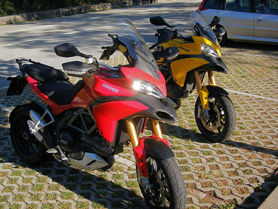 Yellow, yes YELLOW! Multistrada 1200 The only factory yellow Ducati Multistrada 1200 in the world? Francesco Pavinato's genuine factory built yellow MTS1200  Article here:  http://www.motorcycleinfo.co.uk/index.cfm?fa=contentGeneric.svujwmxokbhbwyoc&pageId=2334995