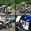 Compilation of 4 photos of the 'Try Bayliss' Ducati Multistrada 1200<br /> Please let me know if you know the source of the original images (not the ducati.ms forum where they were reposted;-)