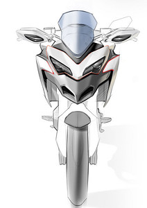 Ducati Multistrada 1200 - pre production artwork    Ducati Multistrada 1200 Info & Resources