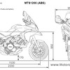"Ducati Multistrada 1200 - dimensions  <b><a target=""_blank"" href=""http://www.motorcycleinfo.co.uk/index.cfm?fa=contentGeneric.psqlmptrfsppjcbe"">Multistrada 1200 / 1200S 'How to & FAQs'</a></b>"