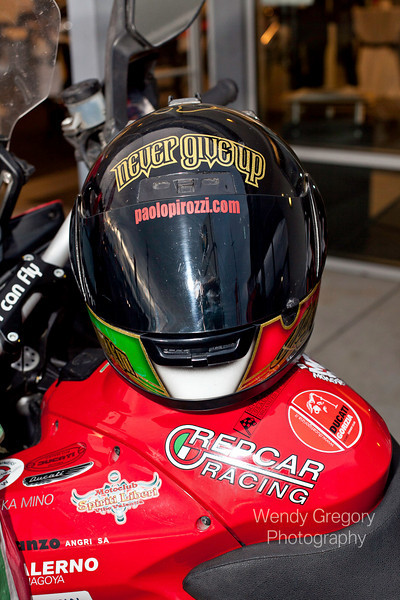 """Paolo visits European Motorcycles of Western Oregon - photo by Wendy Gregory. Wendy's photo galleries:   <a href=""""http://wendygregory.zenfolio.com"""">http://wendygregory.zenfolio.com</a><br /> Copyright © 2010 Wendy Gregory Photography  <a href=""""http://www.wendygregoryphotography.com"""">http://www.wendygregoryphotography.com</a><br /> <br /> Article here:  <a href=""""http://www.motorcycleinfo.co.uk/index.cfm?fa=contentGeneric.svujwmxokbhbwyoc&pageId=2314121"""">http://www.motorcycleinfo.co.uk/index.cfm?fa=contentGeneric.svujwmxokbhbwyoc&pageId=2314121</a>"""