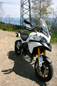 Test - The Multistrada 1200 On Some Great Roads In Northern Italy Photo by  http://ruoteinpiega.com/  See the article here:  http://www.motorcycleinfo.co.uk/index.cfm?fa=contentGeneric.hbkxldonarlecghl&pageId=2335398