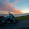 Photos from Ducati.ms forum member 'miloVanMultistrada' (aka Miles) of his Multistrada 1200.<br /> Heading home on the A92
