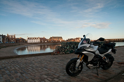 Photos from Ducati.ms forum member 'miloVanMultistrada' (aka Miles) of his Multistrada 1200. Stonehaven Harbour