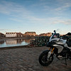 Photos from Ducati.ms forum member 'miloVanMultistrada' (aka Miles) of his Multistrada 1200.<br /> Stonehaven Harbour