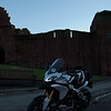 Photos from Ducati.ms forum member 'miloVanMultistrada' (aka Miles) of his Multistrada 1200.<br /> Arbroath Abbey