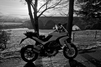 Photos from Ducati.ms forum member 'miloVanMultistrada' (aka Miles) of his Multistrada 1200. 1/6 - Location: Coupar Angus, Angus, Scotland