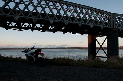 Photos from Ducati.ms forum member 'miloVanMultistrada' (aka Miles) of his Multistrada 1200. 5/6 - Location: railway bridge over Montrose basin, Montrose, Angus