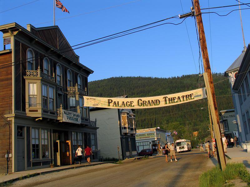 Streetscape - Dawson City
