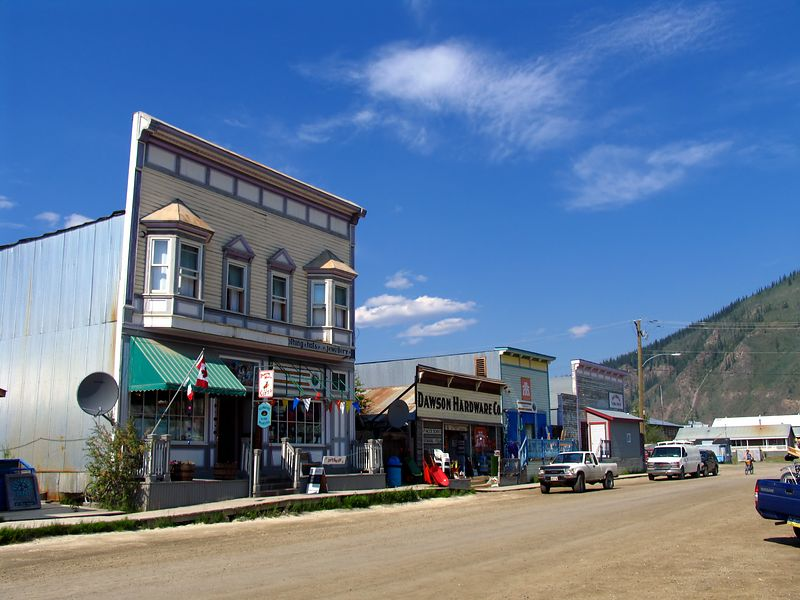 Streetscape - Dawson City