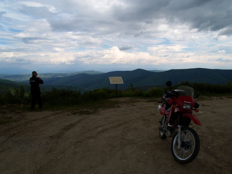Overlook on mining road loop