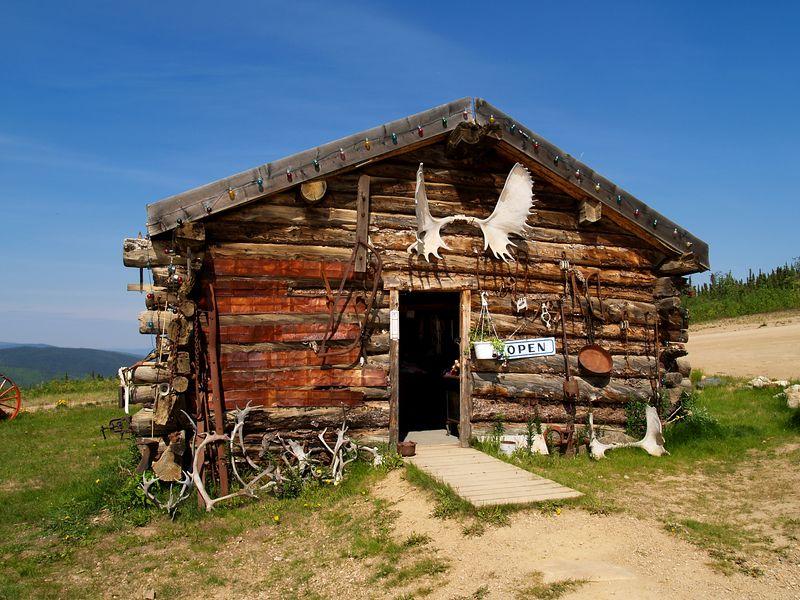Log cabin / gift shop Boundry, AK