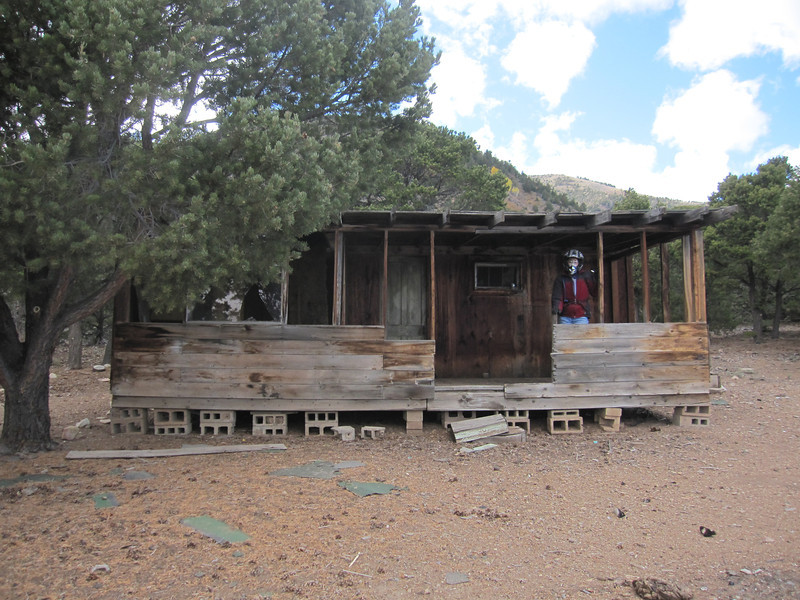We're in search of the ghost town of Eagle City but all we find is this old cabin.  A broken down shack of sorts that has little historical significance.