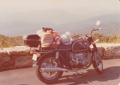 September 1978, Skyline Drive.