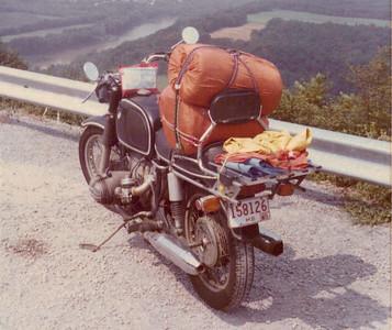 W Va overlook, 1978?.