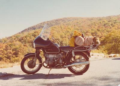 October 1978, Skyline Drive.