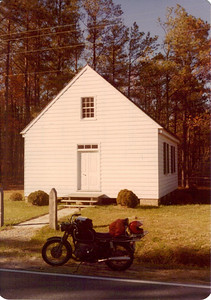 Tubman Chapel, near Hoopers Is, MD, Oct 1979.