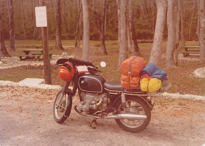 April 1979.  Rest stop near Thomaston, GA.