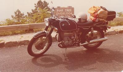 September 1978.  Skyline Drive.