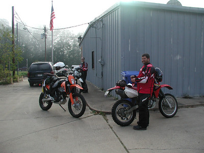 East Texas Dual Sport Motorcycle Ride