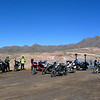 The group at the mine overlook. Our numbers were shrinking as the day wore on.