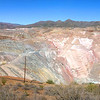 A seven shot stitched panorama of the pit mine.