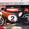 1970 Daytona winning Honda CR750 ridden by Dick Mann