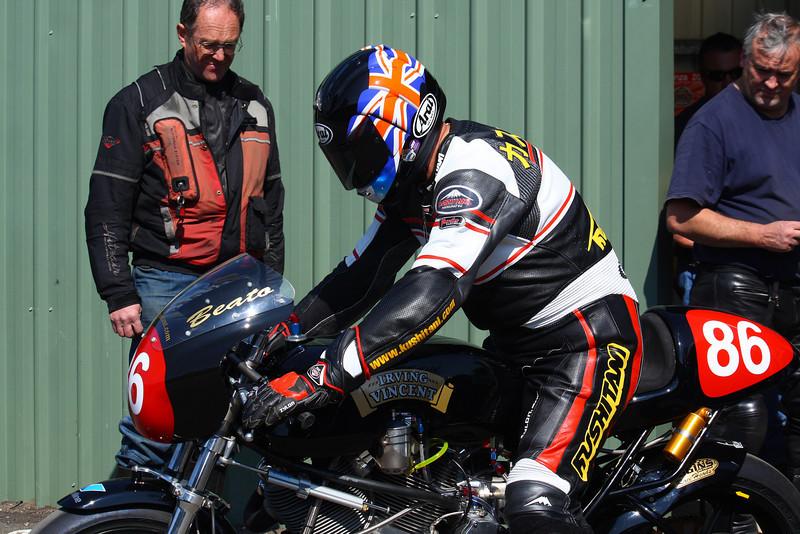 Alan Cathcart aboard the Irving Vincent. Broadford 3 April 2010