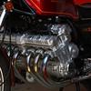 Honda CBX engine up close.