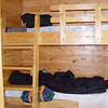 Bunks in cabin.