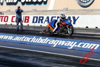 Edelbrock/PSCA Drag Racing Finals Nitro Harleys  Top Fuel Motorcycles Fontana Ca. 10 10 2015