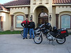 Daniel and Roberto leaving Harlingen Friday April 20 in the afternoon.
