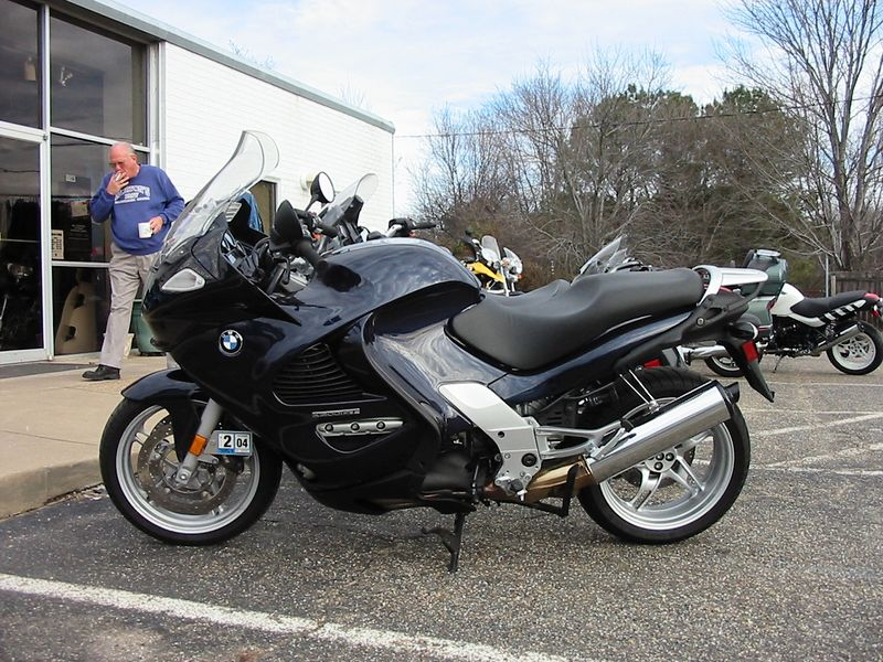 Fourth bike, first Beemer - a 2003 BMW K1200GT.  At 130 bhp, this thing was had more power than some cars I've owned.  Anyway, it had some problems that the dealer didn't take care of and I didn't end up having it that long.
