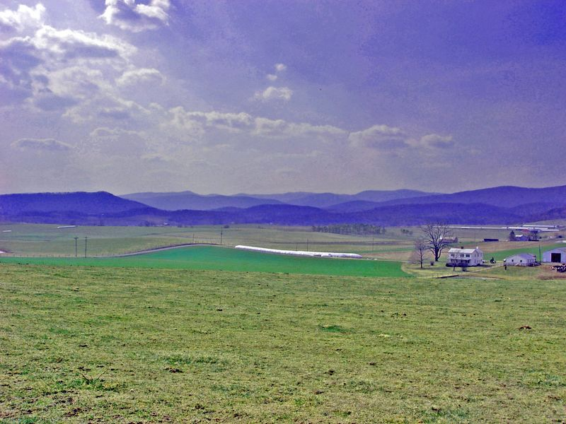 Shenendoah Valley farm scene