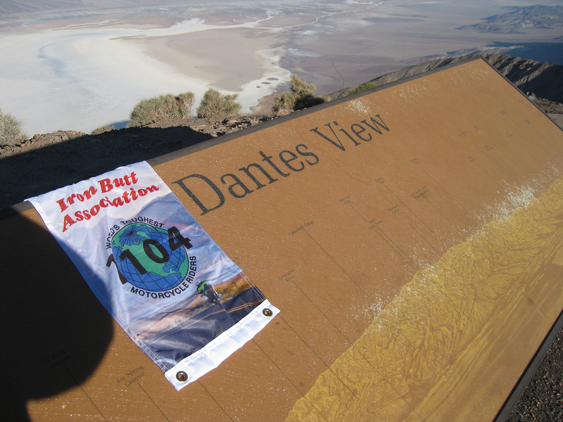 Dantes View, Death Valley National Park - 2,601 points