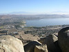 Overlooking the town of Lake Elsinore.
